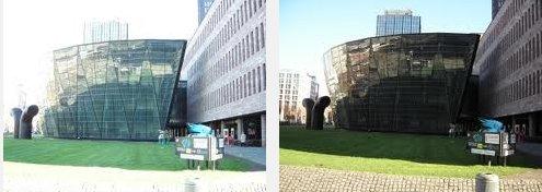 dos fotos tomadas con la misma camara digital