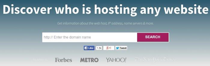 ver servidor o hosting