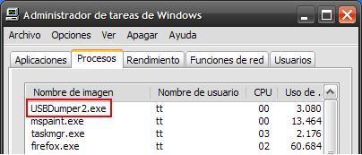 tareas USBDumper