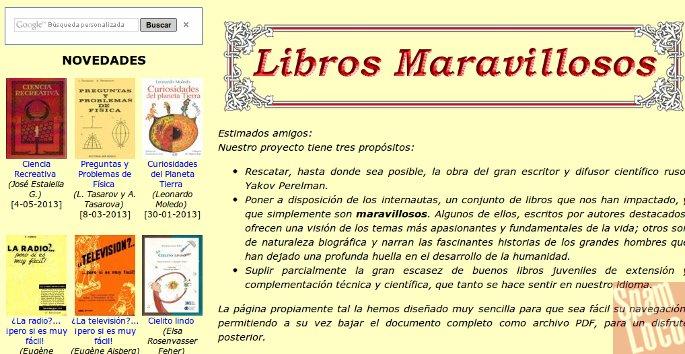 libros maravillosos web