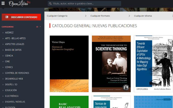 portal de libros openlibra