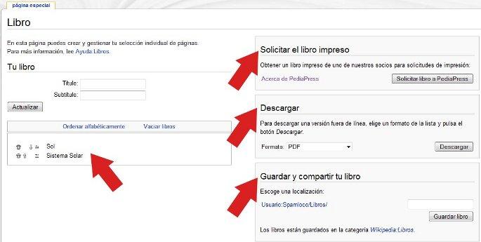 descargar libro de la wikipedia