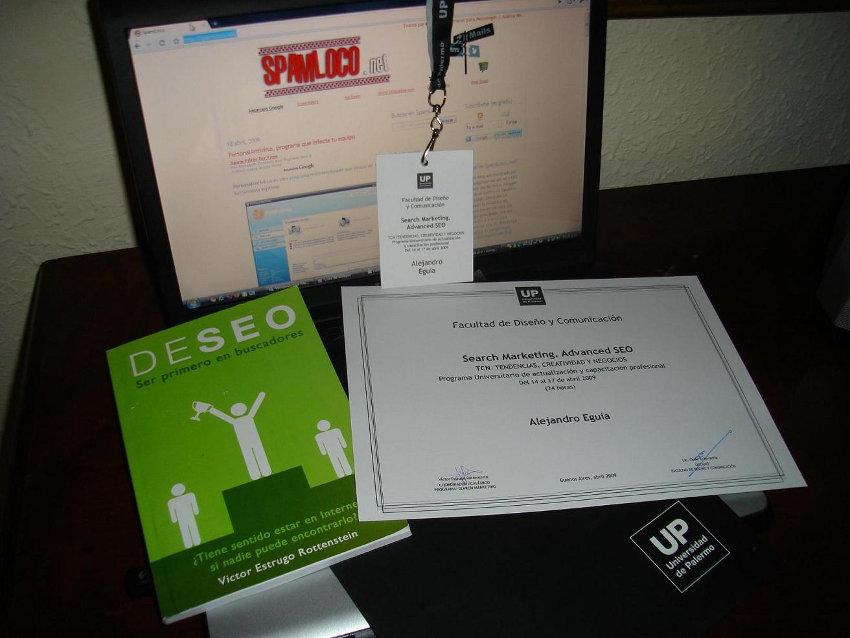 diploma curso seo