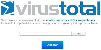 virus total scan web