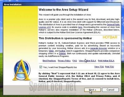 instalador ares hotbar