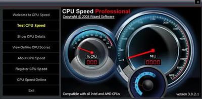 Ver la velocidad real del procesador