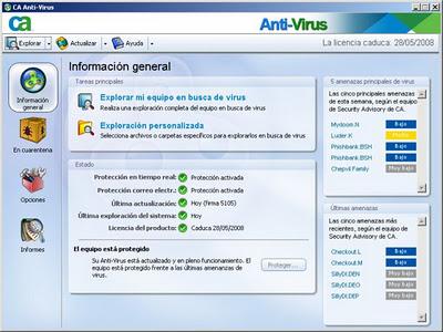 CA Anti-Virus 2008