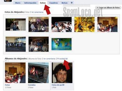 Fotos privacidad facebook