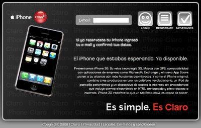 iPhone Claro