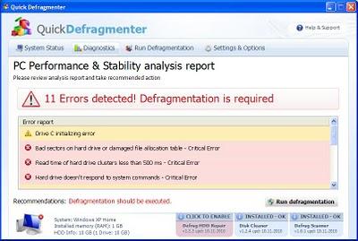Quick-Defragmenter