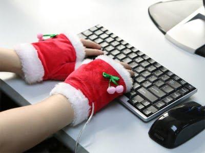 calentador usb navidad
