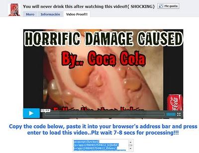 coca cola video facebook