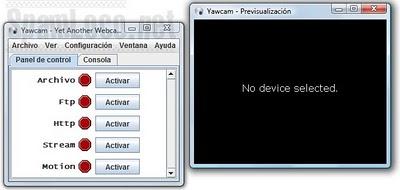 programa yawcam para vigilar