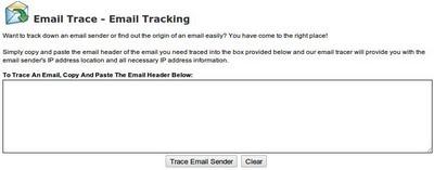 servicio para rastrear el correo