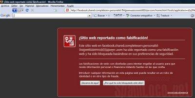 dominio malicioso bloqueado por firefox
