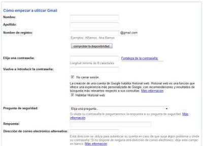 gmail com cuenta