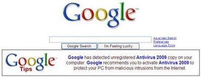 Antivirus 2009 Google