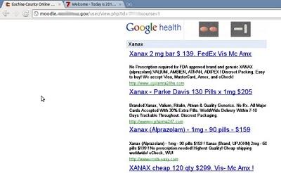 google-health-falso