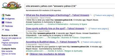 spam-yahoo-answers