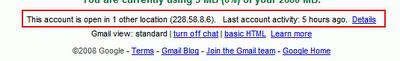 Gmail IP