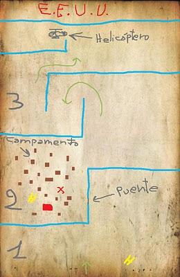 mapa mision rambo