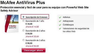 antivirus gratis macafe