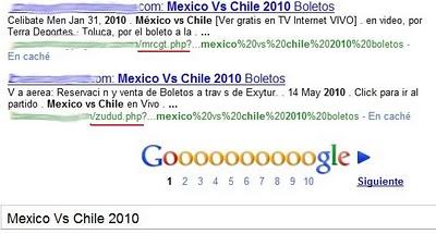 mexico chile google