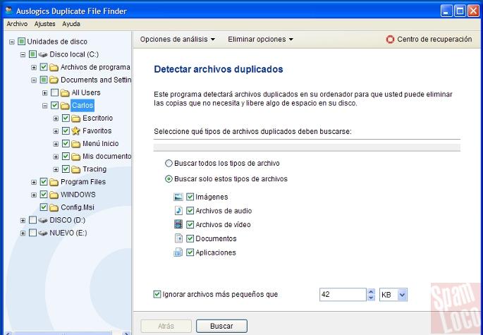 programa para eliminar archivos duplicados