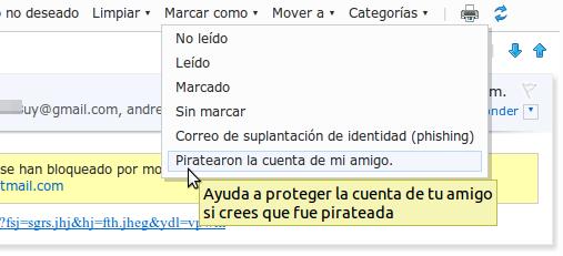 piratearon la cuenta amigo hotmail