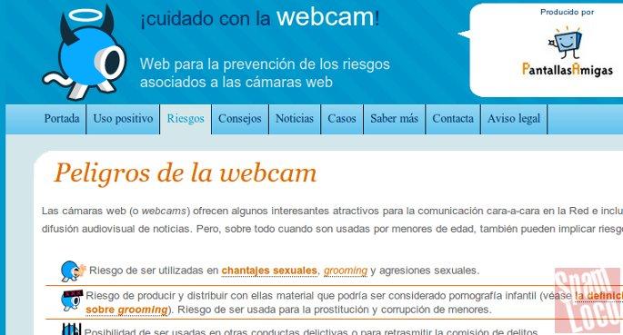 cuidado con la webcam seguridad