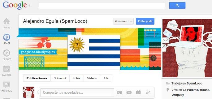 bandera uruguay perfil google+