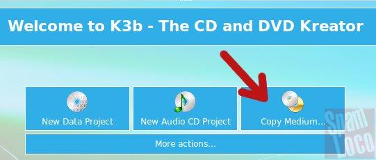 crear imagen iso en ubuntu con k3b