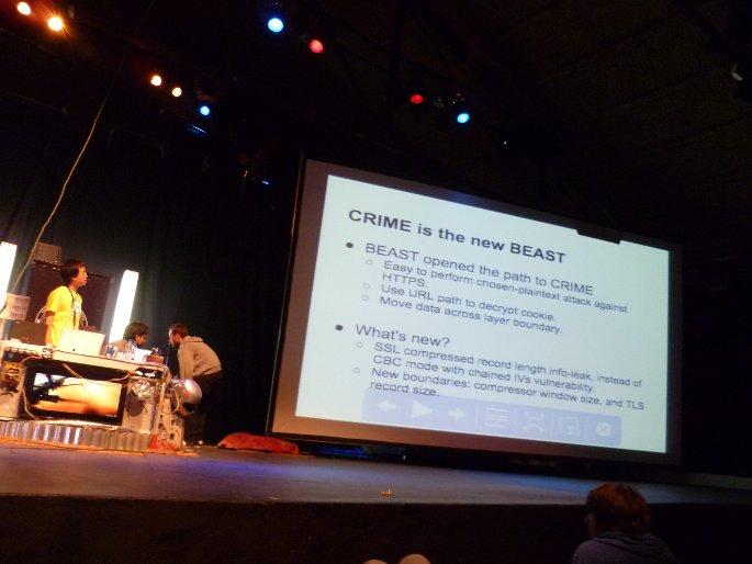 The CRIME Attack ekoparty charla