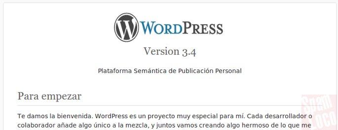archivo readme wordpress