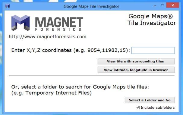 Google Maps Tile Investigator