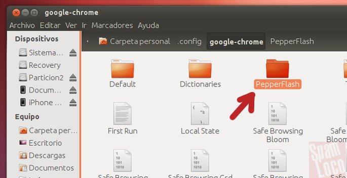 flash en chrome bajo linux