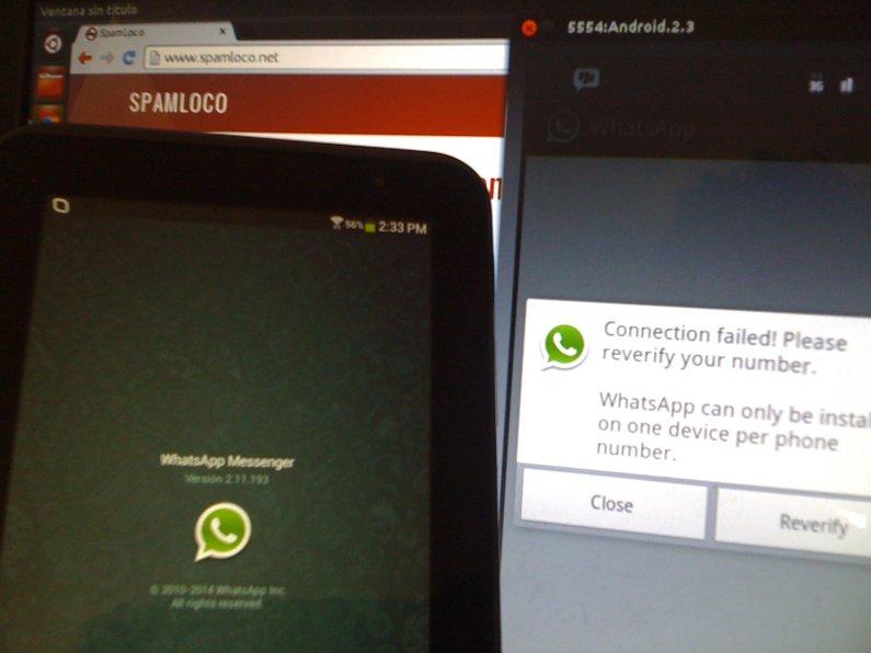 whatsapp en samsung galaxy tab 2