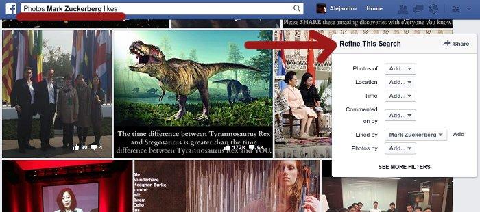 busqueda avanzada de facebook