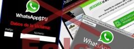 espiar WhatsApp programas falsos