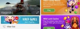 juegos en viber