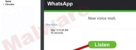 engaño whatsapp correo falso
