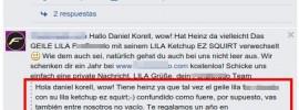 ketchup qr comentarios en facebook