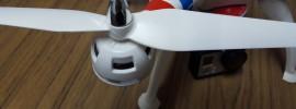 helice del drone syma x8c