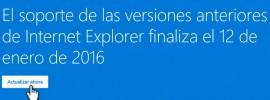 actualizar internet explorer