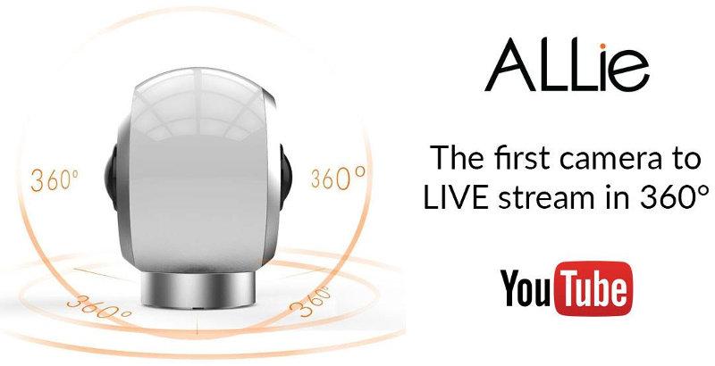 allie camera 360 grados