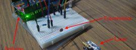 alarma laser con arduino y alertas por twitter