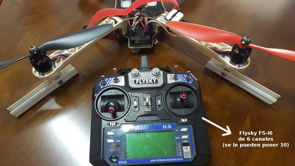 control flysky fsi6